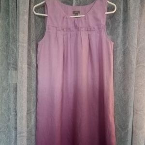 J.Jill.Dip Dyed Linen Dress